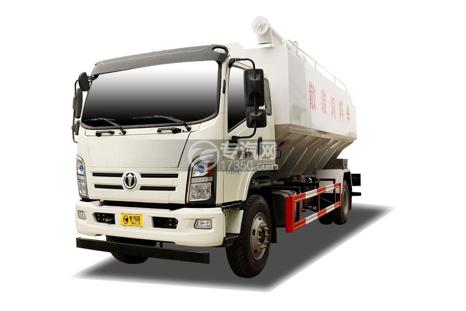 奧馳V6排半國六散裝飼料運輸車(液壓絞龍)