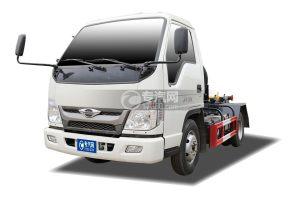 福田时代领航国六小卡之星车厢可卸式垃圾车