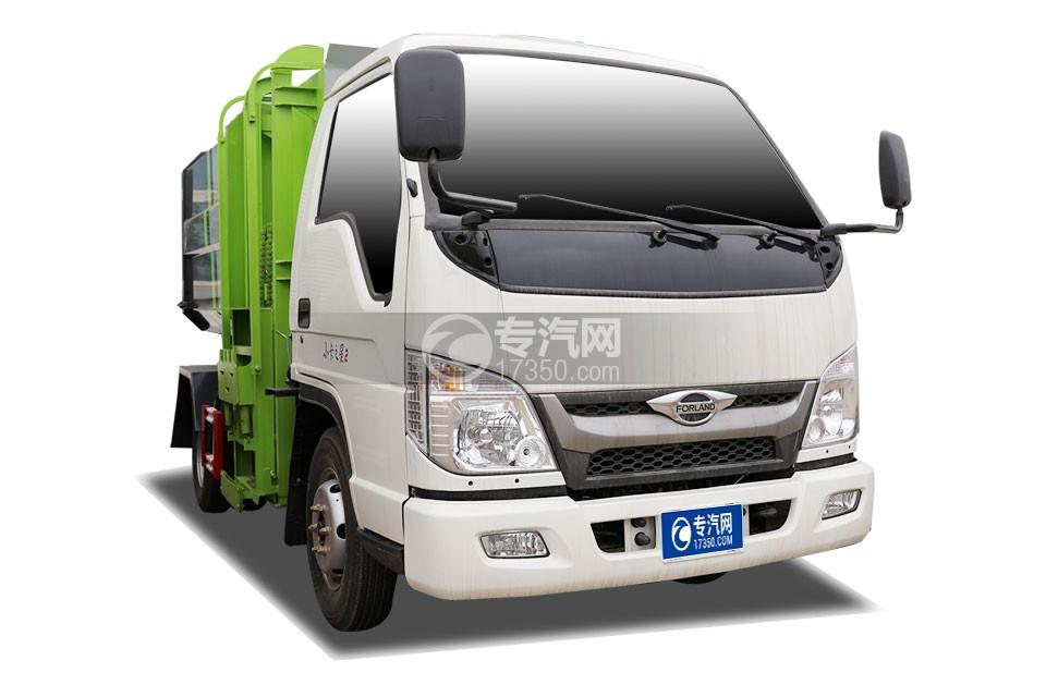 福田时代领航小卡之星国六自装卸式垃圾车