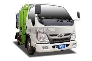 福田時代領航小卡之星國六自裝卸式垃圾車