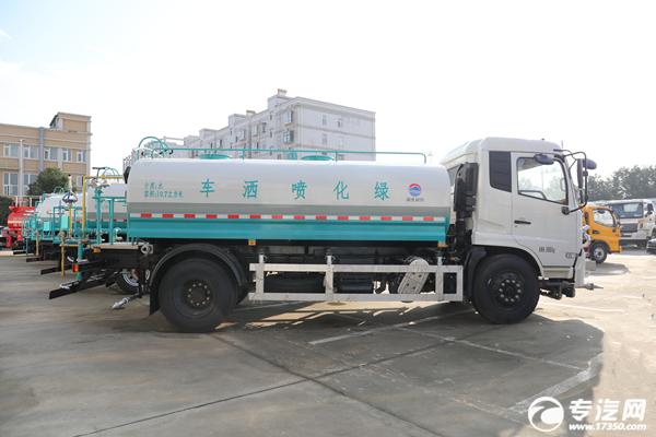 东风天锦VR国六10.7方清洗洒水车