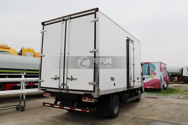 福田奥铃速运国六4.08米冷藏车右后图