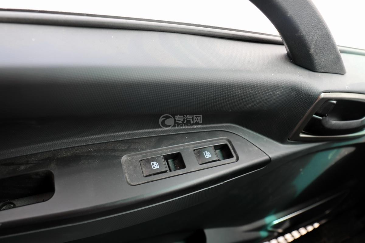 陕汽轩德X9单桥国六4.35方吸污车玻璃升降按钮