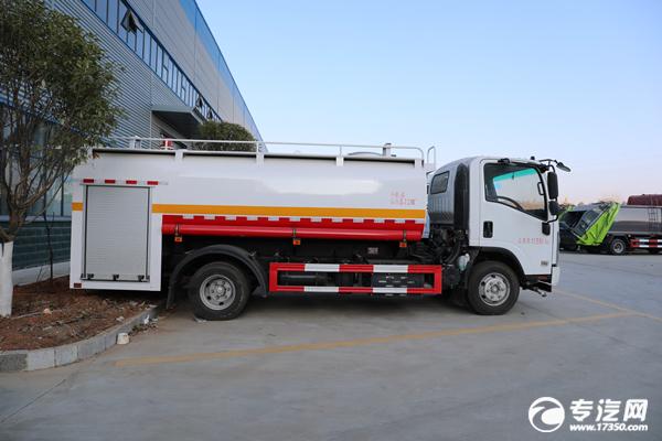 慶鈴五十鈴ELF國六5.72方消防灑水車