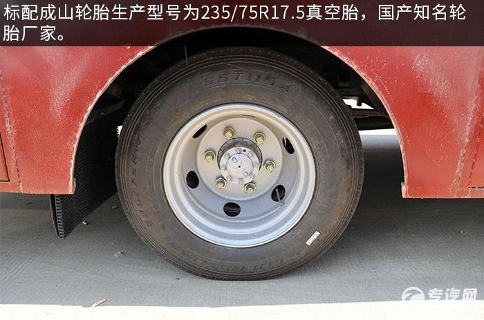 庆铃五十铃国六LED广告宣传车评测轮胎