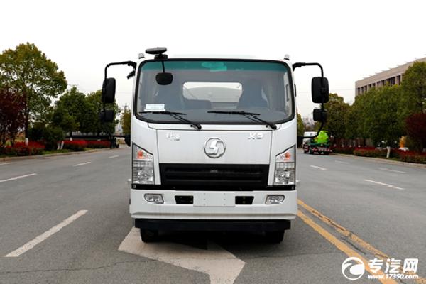 341批汽車公告新車型 陜汽軒德X9國六5方綠化噴灑車參數解析