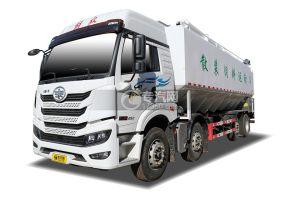 解放悍V2.0前四后六國五散裝飼料運輸車(電動絞龍)