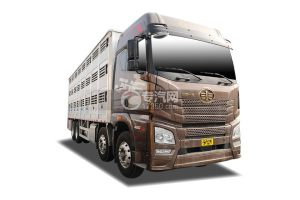 解放JH6前四后八国六铝合金畜禽运输车