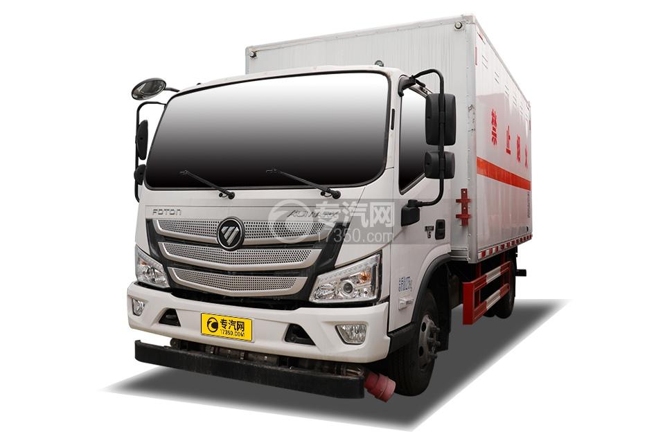 福田歐馬可S3國六4.1米易燃氣體廂式運輸車