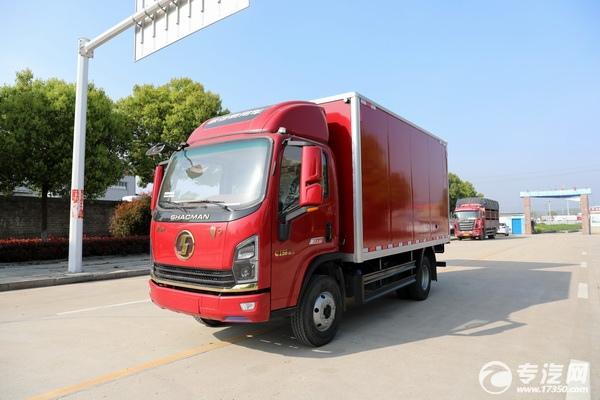 廠家直銷,只需10萬元國六廂式貨車開回家!