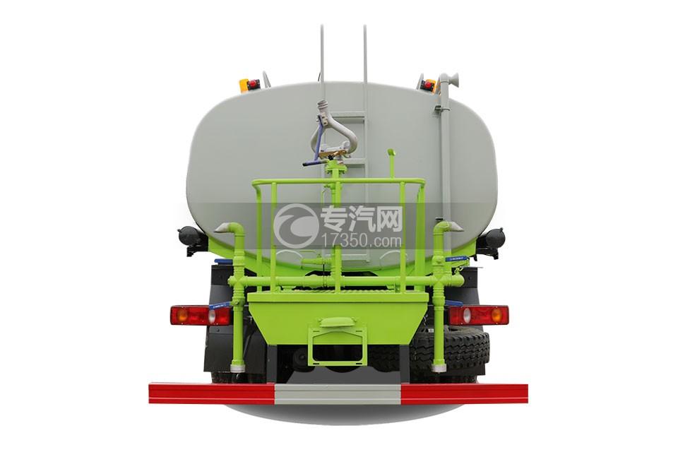 东风专底畅行D3L后双桥国六15.92方洒水车车尾图