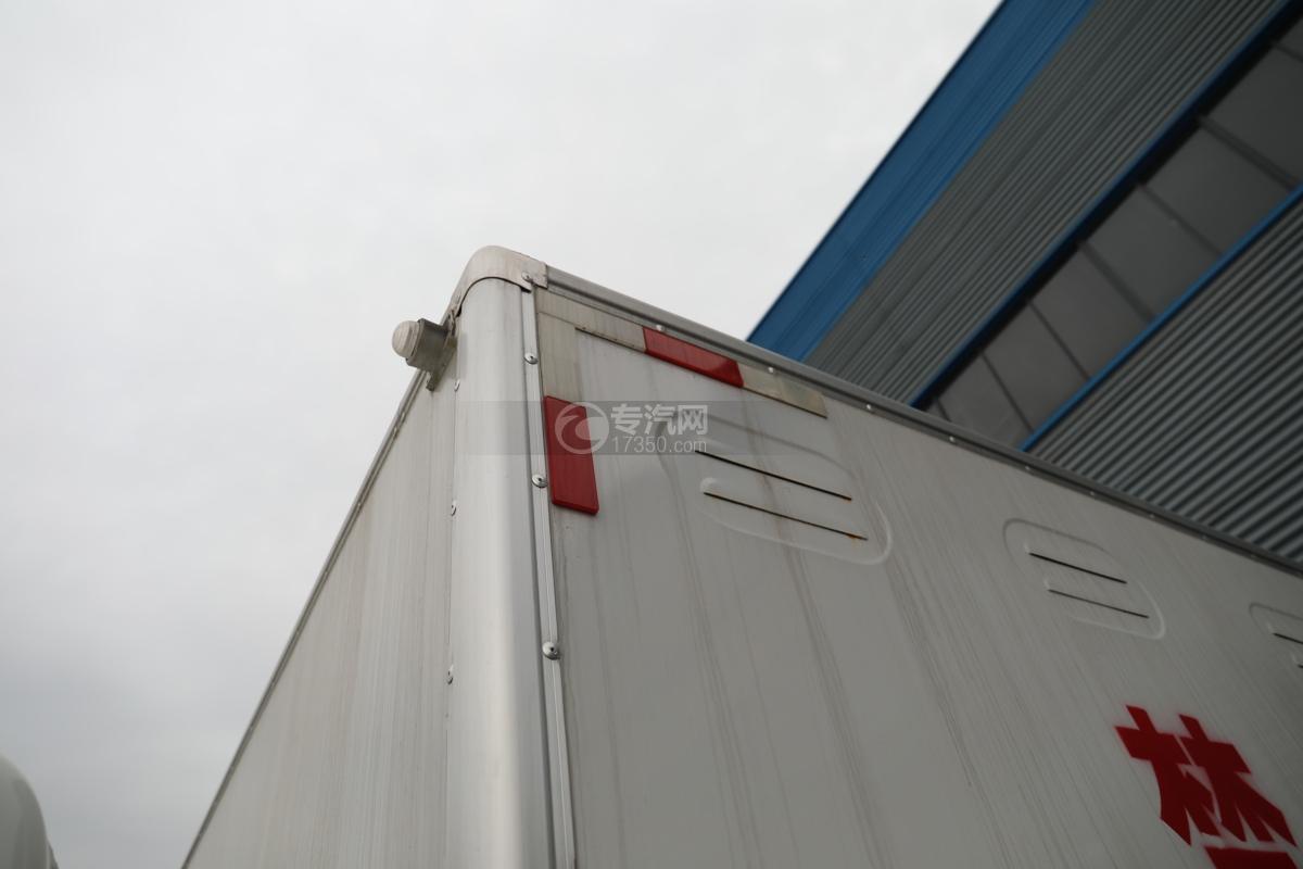 跃进超运C500国六4.1米杂项危险物品厢式运输车警示灯