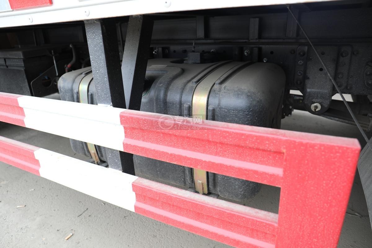 跃进超运C500国六4.1米杂项危险物品厢式运输车下防护