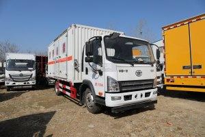 解放虎VN國六5.15米雜項危險物品廂式運輸車圖片