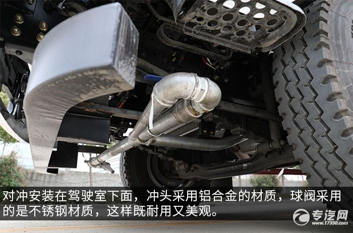 湖北大运F6国六10.2方绿化喷洒车评测