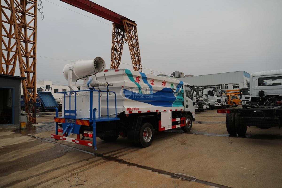 东风多利卡D6国六40米多功能抑尘车右后图