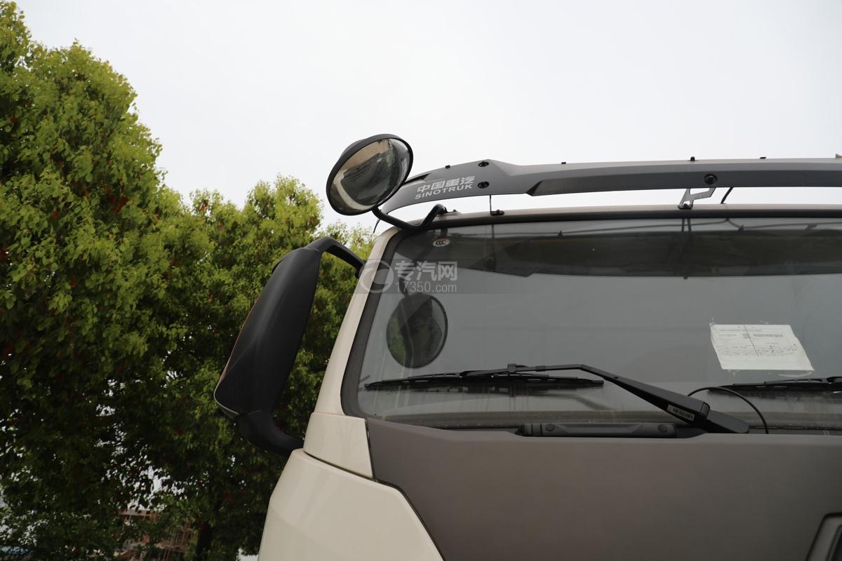 重汽豪瀚N5W国六10.5方多功能抑尘车左后视镜