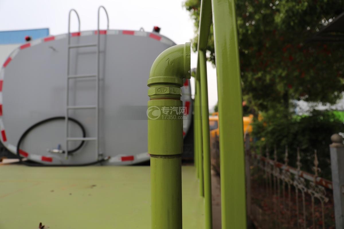 重汽豪瀚N5W国六10.5方多功能抑尘车侧喷