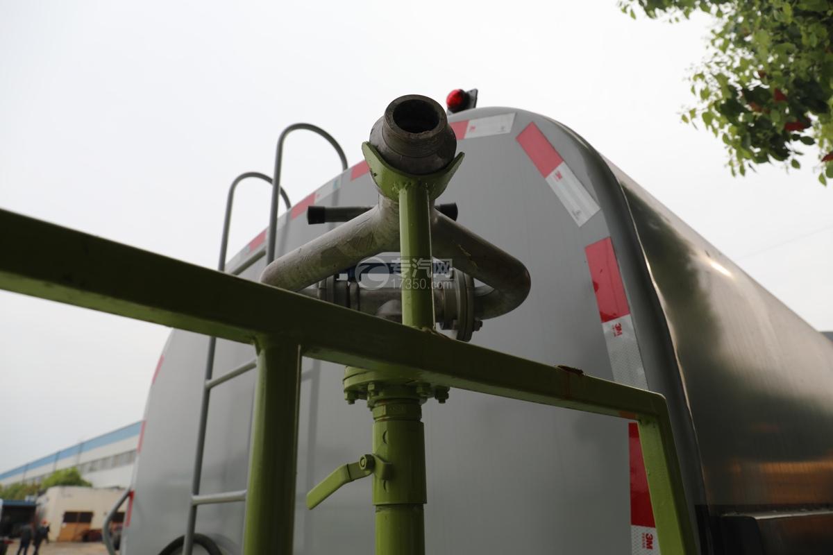 重汽豪瀚N5W国六10.5方多功能抑尘车洒水炮