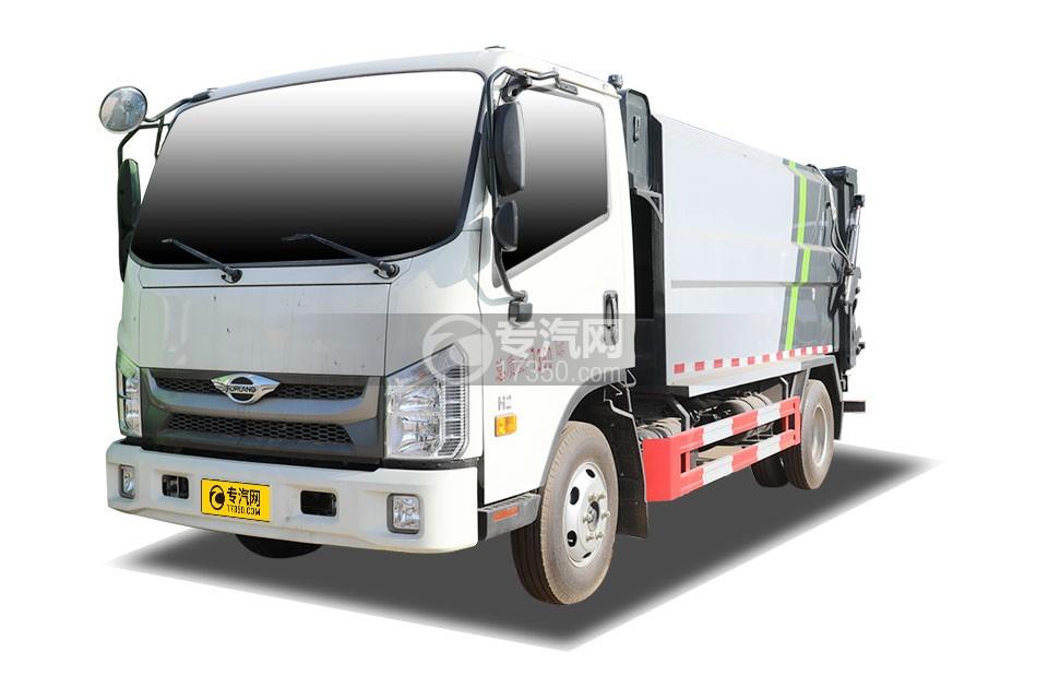 福田時代H2國六自裝卸式垃圾車