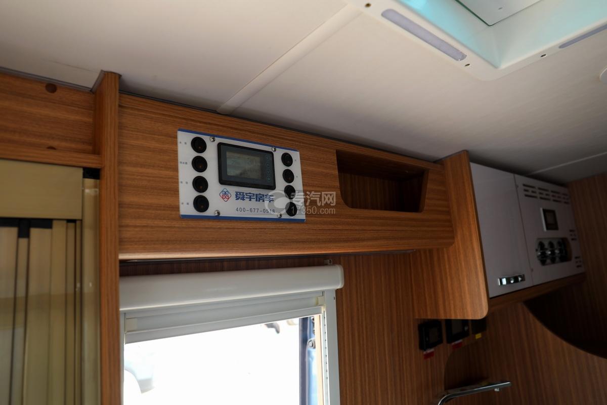 上汽大通V90国六B型房车电控面板