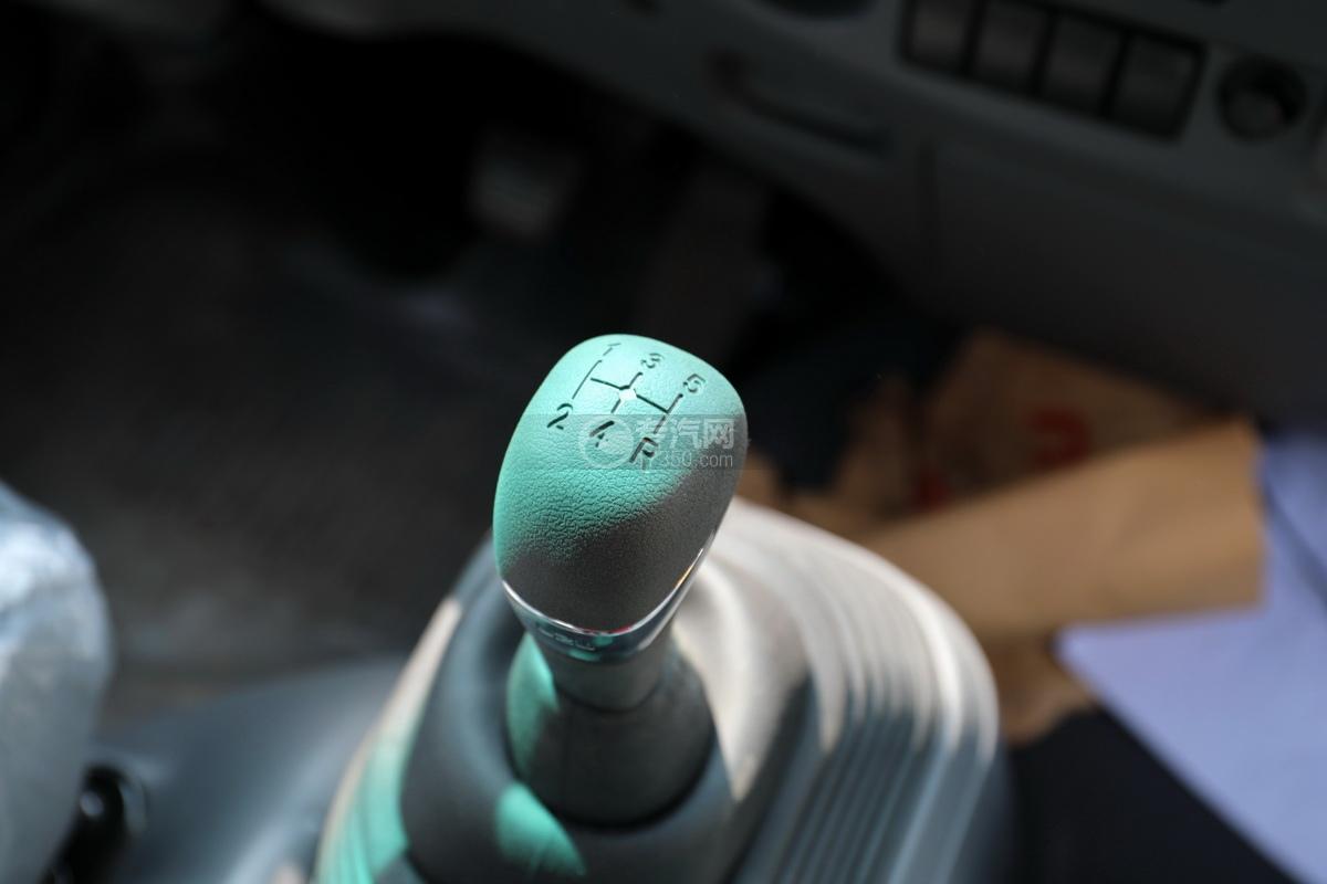 慶鈴五十鈴KV100國六一拖二藍牌清障車(白色)檔位操作桿