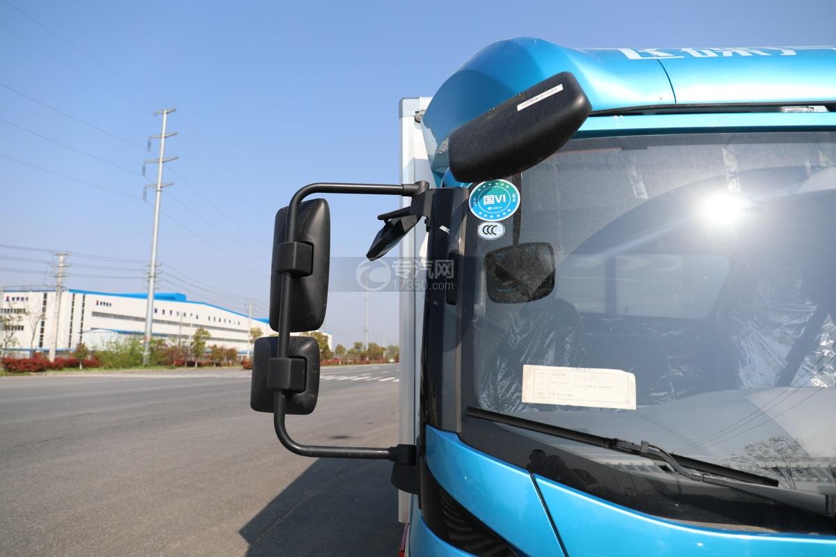 飞碟W5国六蓝牌4.085米冷藏车右后视镜