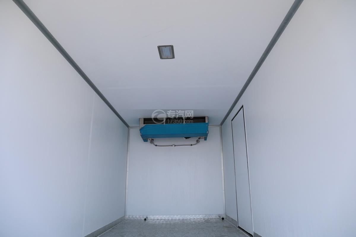 飞碟W5国六蓝牌4.085米冷藏车冷藏机组