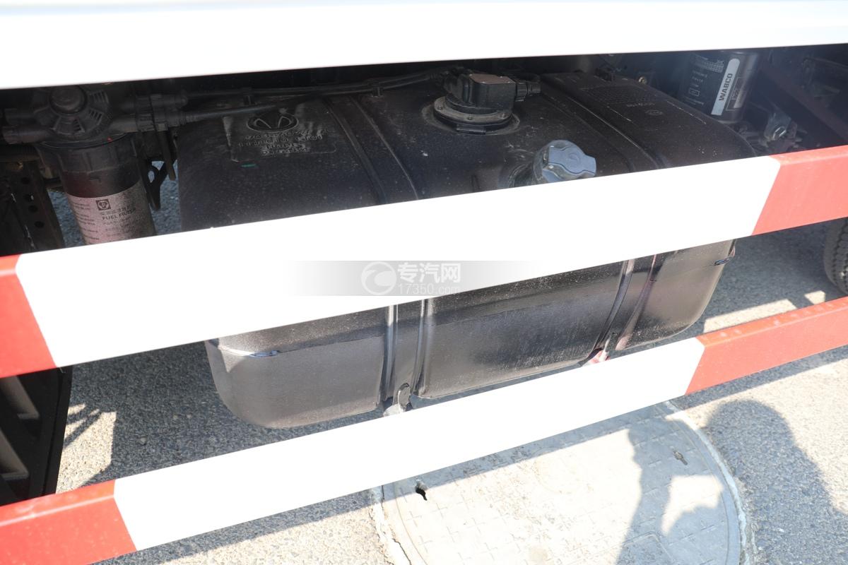 飞碟W5国六蓝牌4.085米冷藏车下防护