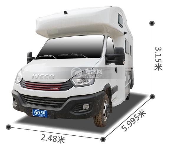 南京依维柯国六C型房车外观尺寸图