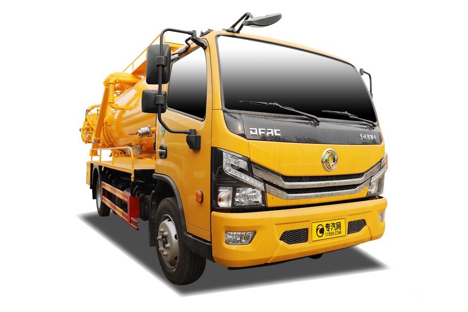 东风多利卡D7国六8.2方清洗吸污车