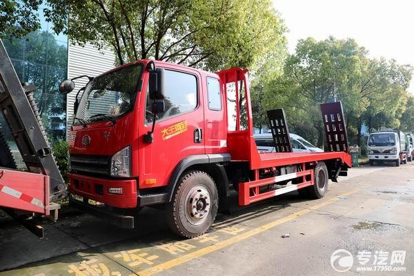 大王驾到,解放虎VH国六平板运输车价格多少钱?