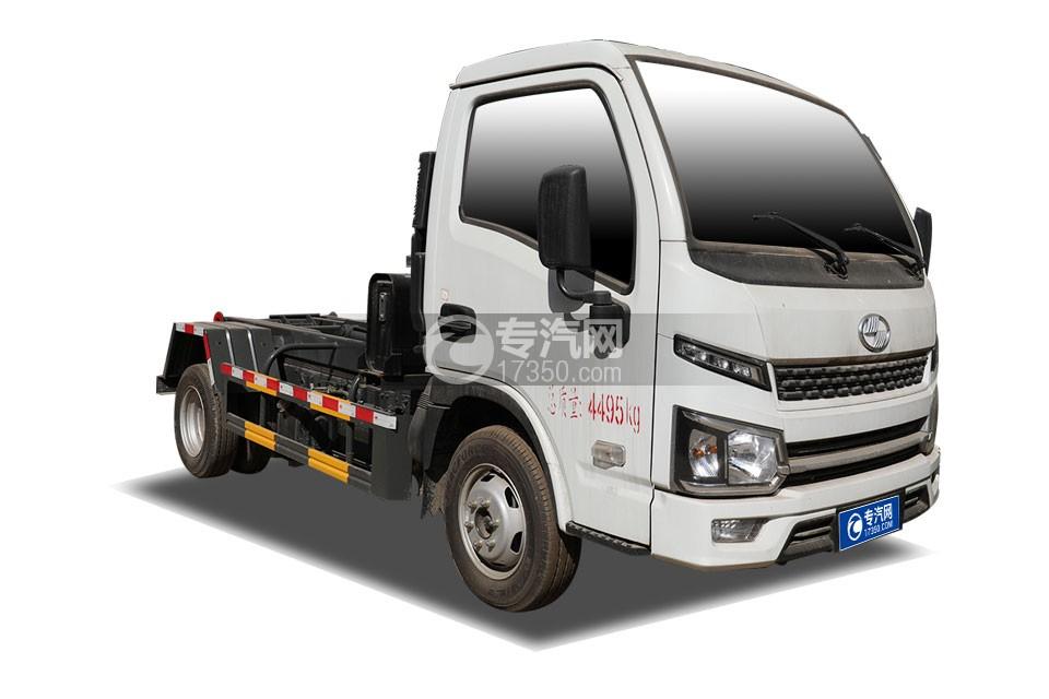 跃进福运S80单排国六车厢可卸式垃圾车