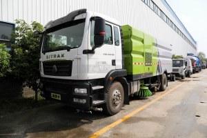汕德卡C5H國六洗掃車圖片