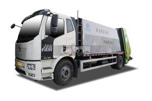 一汽解放J6L国六压缩式垃圾车