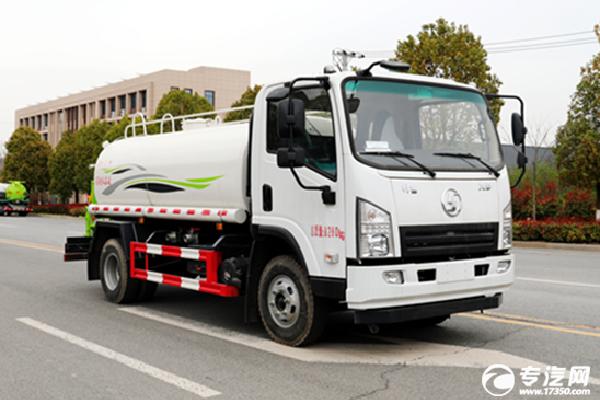 陕汽轩德X9国六4.11方洒水车
