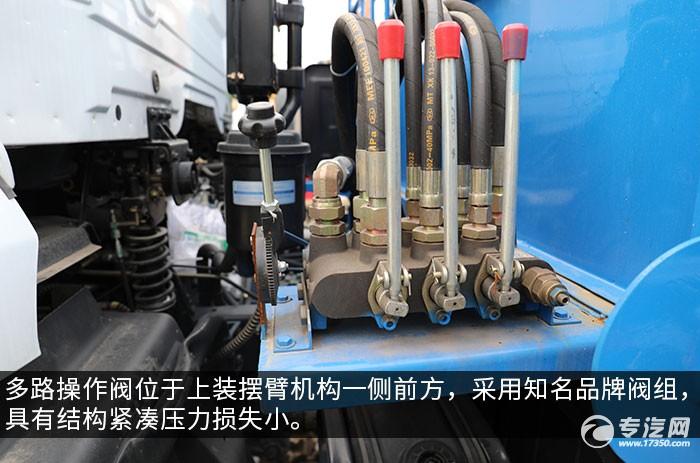 东风随专K6国六摆臂式垃圾车评测多路操作阀