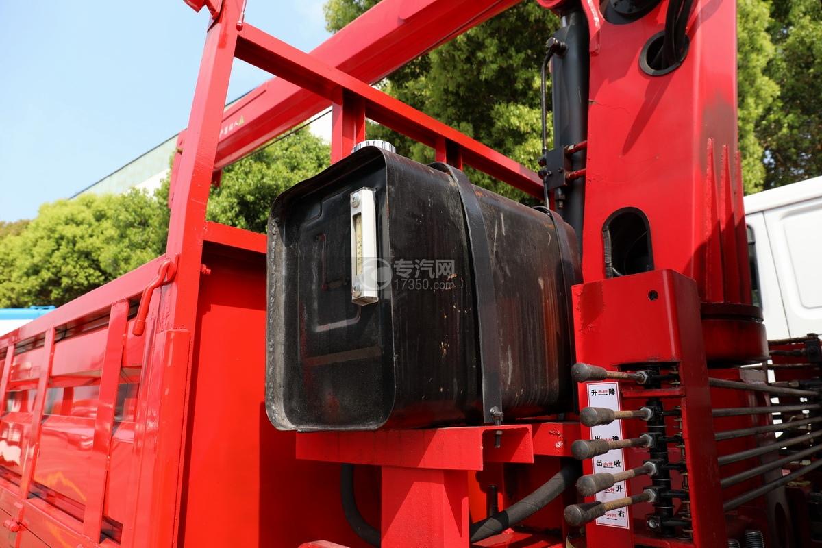 重汽王牌國五6.3噸直臂隨車吊液壓油箱
