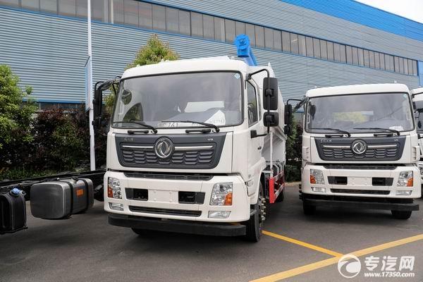 國六18噸散裝飼料運輸車,東風天錦、陜汽翼6、柳汽乘龍這幾款都不錯