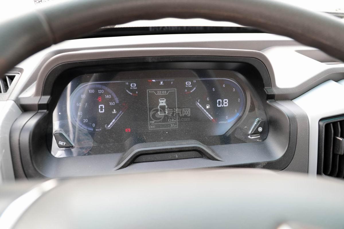 奧馳X2國六車廂可卸式垃圾車儀表盤