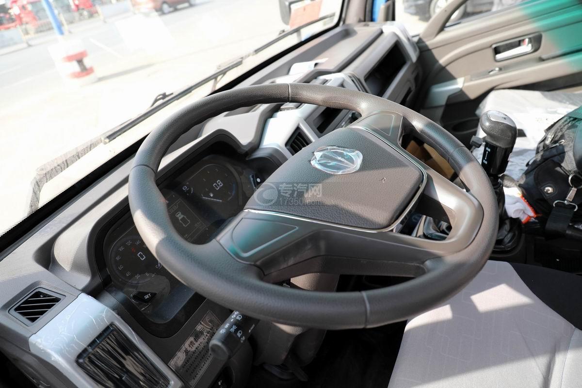 奧馳X2國六車廂可卸式垃圾車方向盤