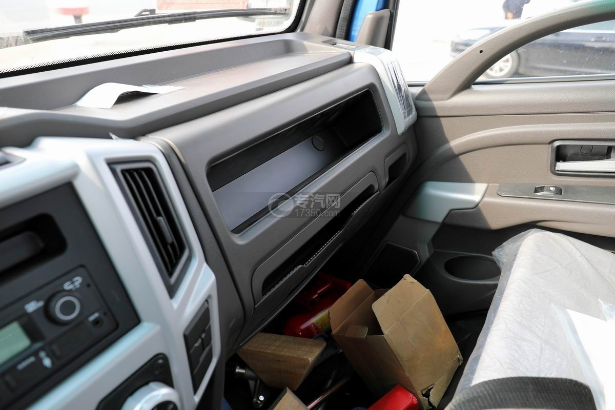 奧馳X2國六車廂可卸式垃圾車副駕儲物柜