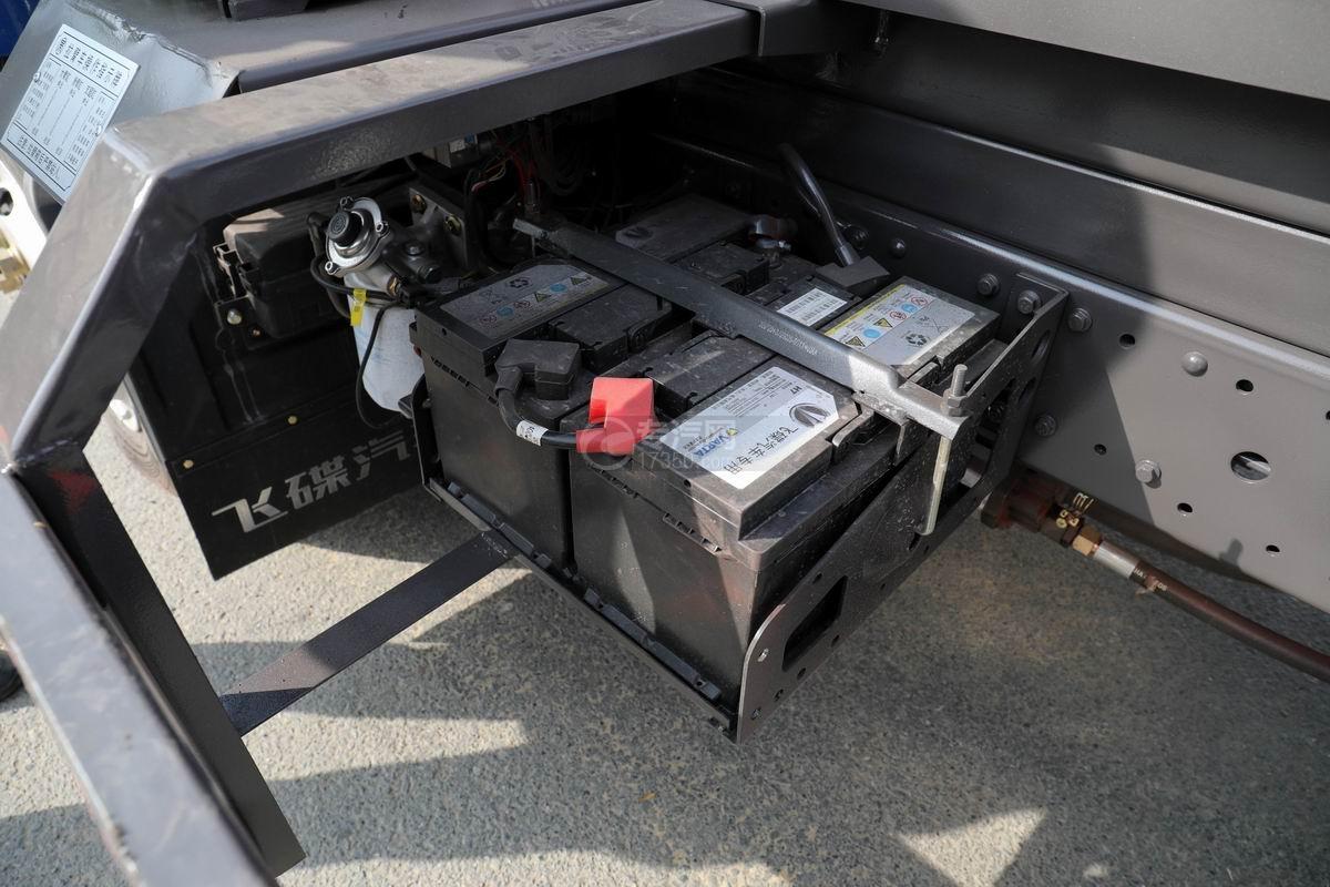 奧馳X2國六車廂可卸式垃圾車蓄電池
