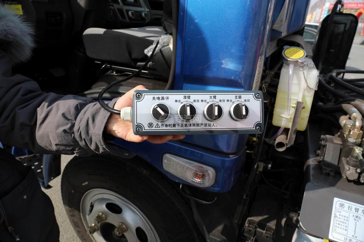 奧馳X2國六車廂可卸式垃圾車電控按鈕