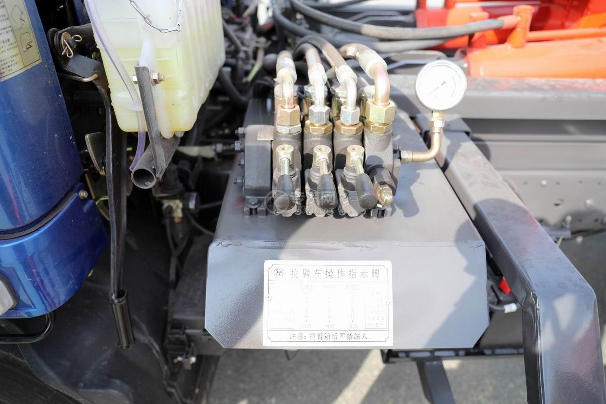 奧馳X2國六車廂可卸式垃圾車多路操作閥