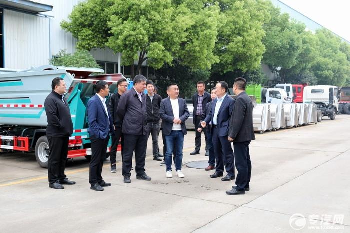 攜手共贏 共謀發展 歡迎五征集團董事長到訪隨州廣通汽貿指導考察