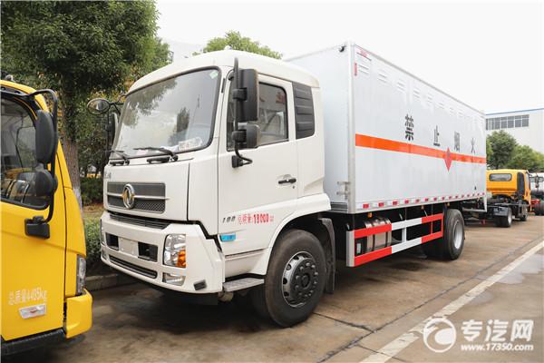 东风天锦国六易燃气体厢式运输车