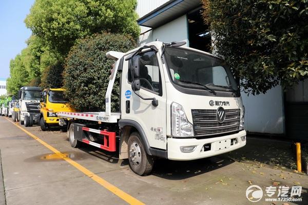 國六藍牌清障車就選福田時代領航!