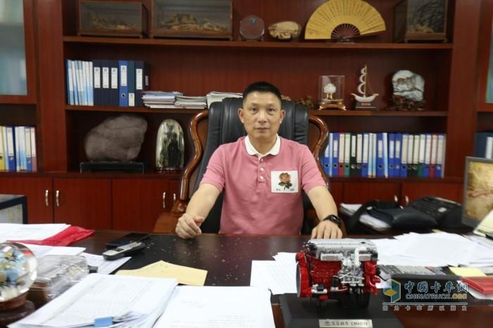 廣東清遠合展混凝土有限公司總經理楊明星
