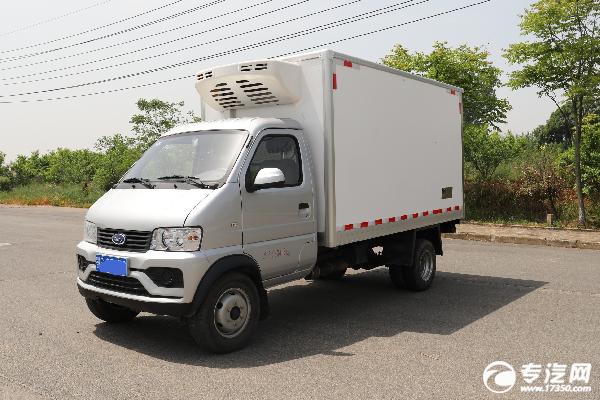 开瑞优劲T70L国六3.22米冷藏车